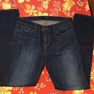 J Brand Jake Straight Leg Jeans
